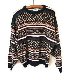 Vintage Grandpa Sweater Size XL